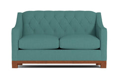 "Jackson Heights Apartment Size Sofa :: Leg Finish: Pecan / Size: Apartment Size - 68""w"