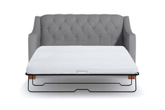 Jackson Heights Apartment Size Sleeper Sofa Leg Finish Pecan Sleeper Option Deluxe Innerspring Mattress