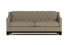Jackson Heights Queen Size Sleeper Sofa :: Leg Finish: Espresso / Sleeper Option: Deluxe Innerspring Mattress