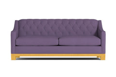 Jackson Heights Queen Size Sleeper Sofa :: Leg Finish: Natural / Sleeper Option: Deluxe Innerspring Mattress
