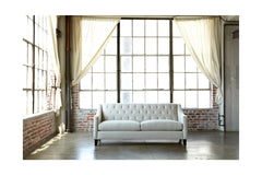 "Jackson Loveseat :: Leg Finish: Pecan / Size: Loveseat - 53""w"