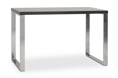 Kings Road Desk GREY/CHROME
