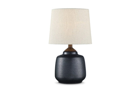 Sullivan Table Lamp GRAPHITE CERAMIC