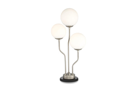 Bardot Table Lamp STERLING/FROST