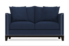 La Brea Twin Size Sleeper Sofa :: Leg Finish: Espresso / Sleeper Option: Memory Foam Mattress