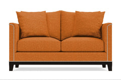 La Brea Twin Size Sleeper Sofa :: Leg Finish: Espresso / Sleeper Option: Deluxe Innerspring Mattress