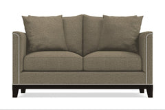 La Brea Apartment Size Sleeper Sofa :: Leg Finish: Espresso / Sleeper Option: Deluxe Innerspring Mattress