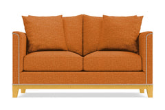 La Brea Apartment Size Sleeper Sofa :: Leg Finish: Natural / Sleeper Option: Memory Foam Mattress