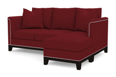 La Brea Reversible Chaise Sleeper Sofa :: Leg Finish: Espresso / Sleeper Option: Memory Foam Mattress