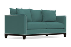La Brea Queen Size Sleeper Sofa :: Leg Finish: Espresso / Sleeper Option: Deluxe Innerspring Mattress