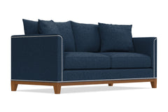 La Brea Sofa :: Leg Finish: Pecan
