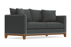 La Brea Queen Size Sleeper Sofa :: Leg Finish: Pecan / Sleeper Option: Deluxe Innerspring Mattress