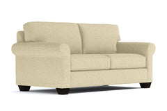 Lafayette Apartment Size Sleeper Sofa :: Leg Finish: Espresso / Sleeper Option: Deluxe Innerspring Mattress