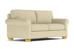 Lafayette Apartment Size Sleeper Sofa :: Leg Finish: Natural / Sleeper Option: Deluxe Innerspring Mattress