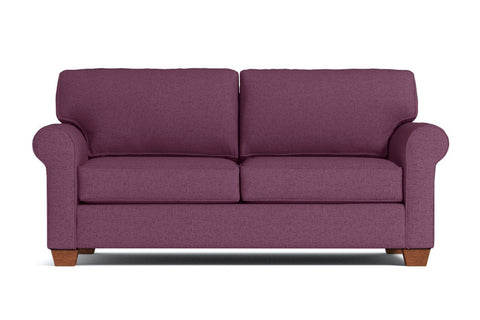 Lafayette Apartment Size Sofa :: Leg Finish: Pecan / Size: Apartment Size - 76