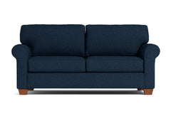 Lafayette Twin Size Sleeper Sofa :: Leg Finish: Pecan / Sleeper Option: Memory Foam Mattress
