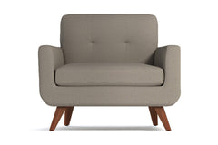 Lawson Chair :: Leg Finish: Pecan