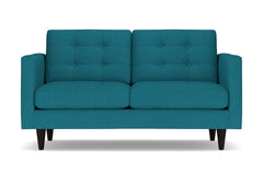 "Lexington Loveseat :: Leg Finish: Espresso / Size: Loveseat - 62""w"