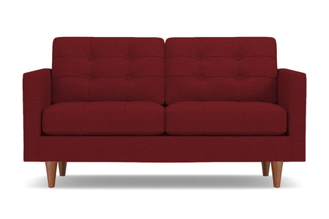 Lexington Apartment Size Sofa :: Leg Finish: Pecan / Size: Apartment Size - 78
