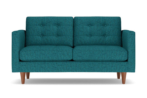 Lexington Loveseat :: Leg Finish: Pecan / Size: Loveseat - 62