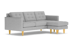Lexington Reversible Chaise Sofa :: Leg Finish: Natural