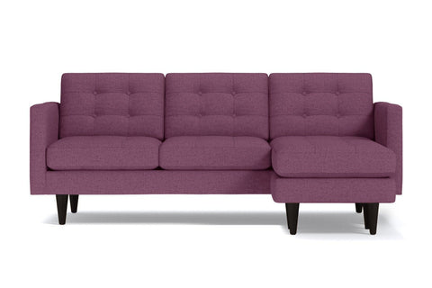 Lexington Reversible Chaise Sofa :: Leg Finish: Espresso