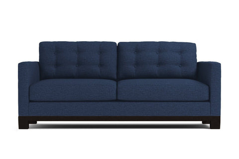 Logan Drive Apartment Size Sleeper Sofa :: Leg Finish: Espresso / Sleeper Option: Deluxe Innerspring Mattress
