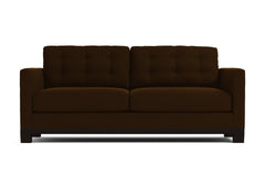 Logan Drive Twin Size Sleeper Sofa :: Leg Finish: Espresso / Sleeper Option: Memory Foam Mattress