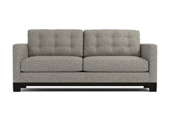 Logan Drive Apartment Size Sleeper Sofa :: Leg Finish: Espresso / Sleeper Option: Memory Foam Mattress
