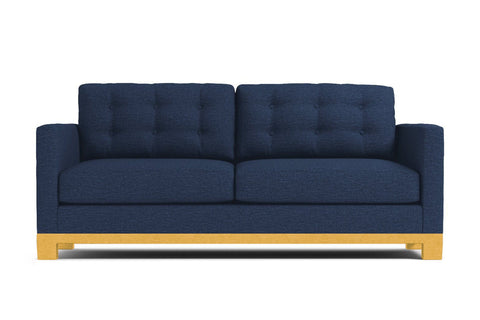 Logan Drive Apartment Size Sleeper Sofa :: Leg Finish: Natural / Sleeper Option: Deluxe Innerspring Mattress