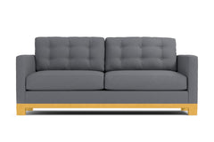Logan Drive Twin Size Sleeper Sofa :: Leg Finish: Natural / Sleeper Option: Deluxe Innerspring Mattress