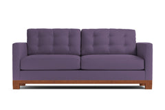 Logan Drive Twin Size Sleeper Sofa :: Leg Finish: Pecan / Sleeper Option: Deluxe Innerspring Mattress