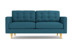 "Logan Apartment Size Sofa :: Leg Finish: Natural / Size: Apartment Size - 68""w"