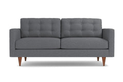 "Logan Apartment Size Sofa :: Leg Finish: Pecan / Size: Apartment Size - 68""w"