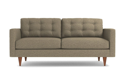 Logan Apartment Size Sofa :: Leg Finish: Pecan / Size: Apartment Size - 68