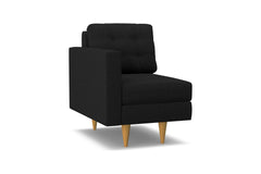 Logan Left Arm Chair :: Leg Finish: Natural / Configuration: LAF - Chaise on the Left