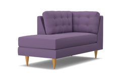 Logan Left Arm Chaise :: Leg Finish: Natural / Configuration: LAF - Chaise on the Left