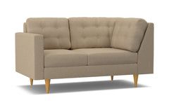 Logan Left Arm Return Loveseat :: Leg Finish: Natural / Configuration: LAF - Chaise on the Left