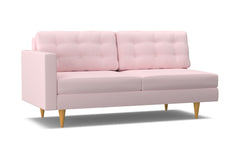 Logan Left Arm Sofa :: Leg Finish: Natural / Configuration: LAF - Chaise on the Left