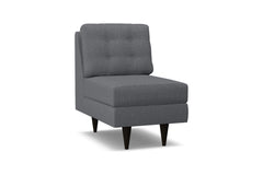 Logan Armless Chair :: Leg Finish: Espresso