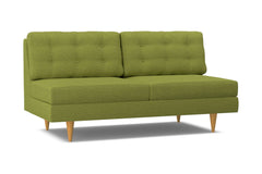 Logan Armless Sofa :: Leg Finish: Natural