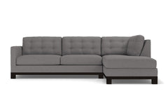 Logan Drive 2pc Sectional Sofa :: Leg Finish: Espresso / Configuration: RAF - Chaise on the Right