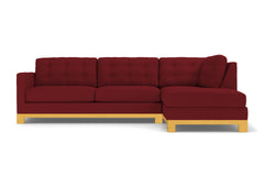 Logan Drive 2pc Sectional Sofa :: Leg Finish: Natural / Configuration: RAF - Chaise on the Right