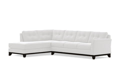 Marco 2pc Sectional Sofa :: Leg Finish: Espresso / Configuration: LAF - Chaise on the Left
