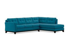 Marco 2pc Sectional Sofa :: Leg Finish: Espresso / Configuration: RAF - Chaise on the Right