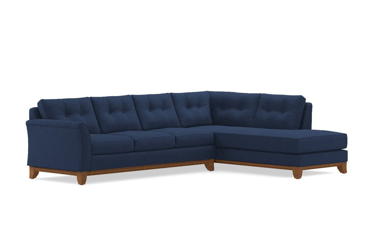 Picture of: Marco 2pc Sectional Sofa Usa Made Modern Apartment Sectionals Apt2b