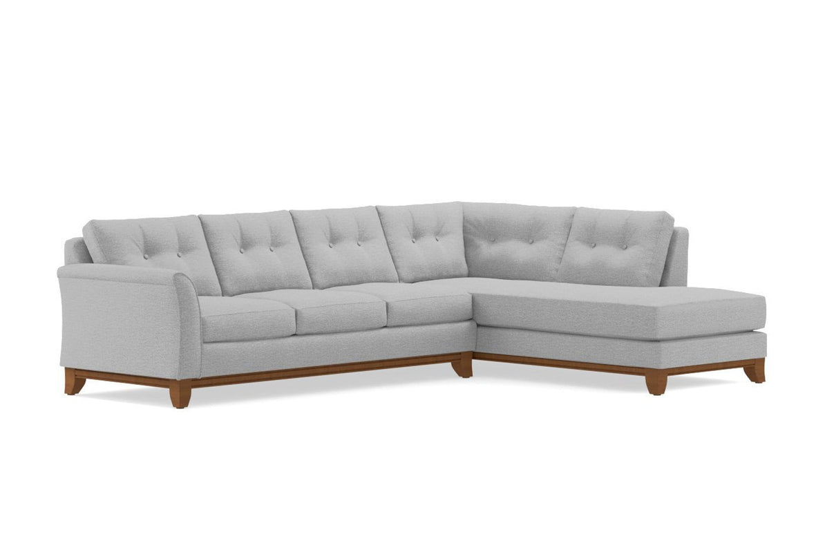 Marco 2pc Sectional Sofa - USA Made Modern Apartment Sectionals | Apt2B