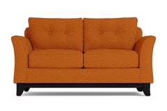 Marco Twin Size Sleeper Sofa :: Leg Finish: Espresso / Sleeper Option: Memory Foam Mattress