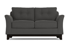Marco Twin Size Sleeper Sofa :: Leg Finish: Espresso / Sleeper Option: Deluxe Innerspring Mattress