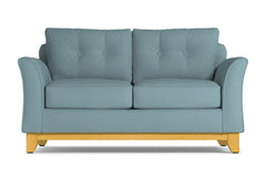 Marco Apartment Size Sleeper Sofa :: Leg Finish: Natural / Sleeper Option: Memory Foam Mattress
